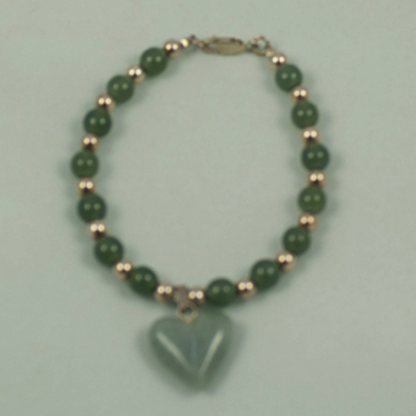 Apple green Jadeite Jade Bracelet