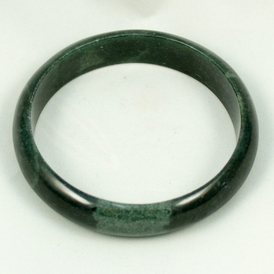 Bangle Dark green Jade